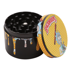 4layer Metal Herbal Smoke Grinders Herb Tobacco Grinder Metal Smoke Pipe Accessories 40/50mm Smoking Accessories Kitchen Gadget