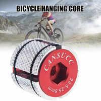 Tubo Vertical de horquilla delantera para bicicleta, accesorio de expansión duradera, de aleación de aluminio, para bicicletas de montaña y carretera