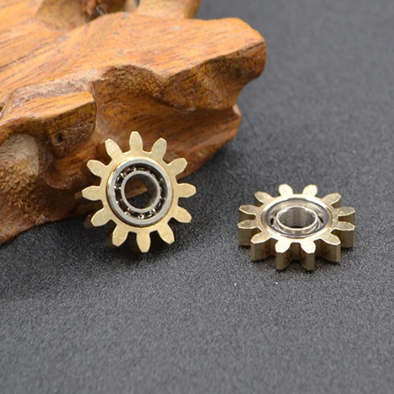 Fidget Spinner Hand-Toys Stress-Relief Metal-Gear Adult-Gift Gyroscope Mini Children img4