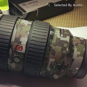 Image 5 - เลนส์ผิวรูปลอกป้องกันห่อสติกเกอร์สำหรับSony 16 35 F4 24 70 2.8GM 70 200 2.8GM F4 70 300 Anti Scratch