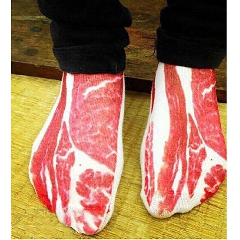 Retro Cotton Vintage Unisex Women Men 3D Printed Socks Animal Casual Funny Novelty Low Cut Ankle Sock