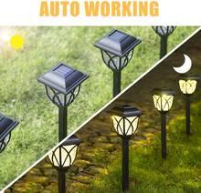 Водонепроницаемый уличный фонарь на солнечной батарее для газона