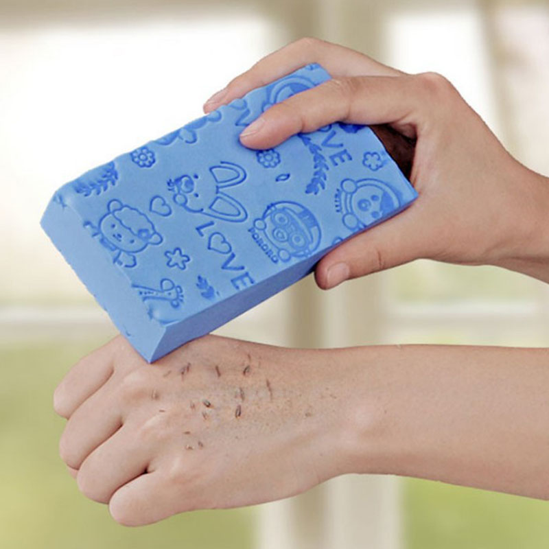 Bath Sponge Body Dead Skin Remover Exfoliating Massager Cleaning Shower Brush Gentle And Not Harmful To The Skin