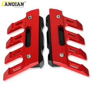 Image 3 - Motorcycle Front Fender Side Brake Caliper Guard For YAMAHA VMAX1200 VMAX V MAX 1200 1700 Mudguard Sliders Lower Fork Protection