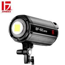 JINBEI EF150 150W LED Video Light Continuous Light Sun Light Photographic Lighting Bowens Mount for Photography Studio PK Godox
