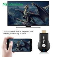 TV Stick WiFi compatibile HDMI Video Streamer TV Dongle ricevitore per AnyCast M2 Plus per Airplay 1080P per DLNA Miracast