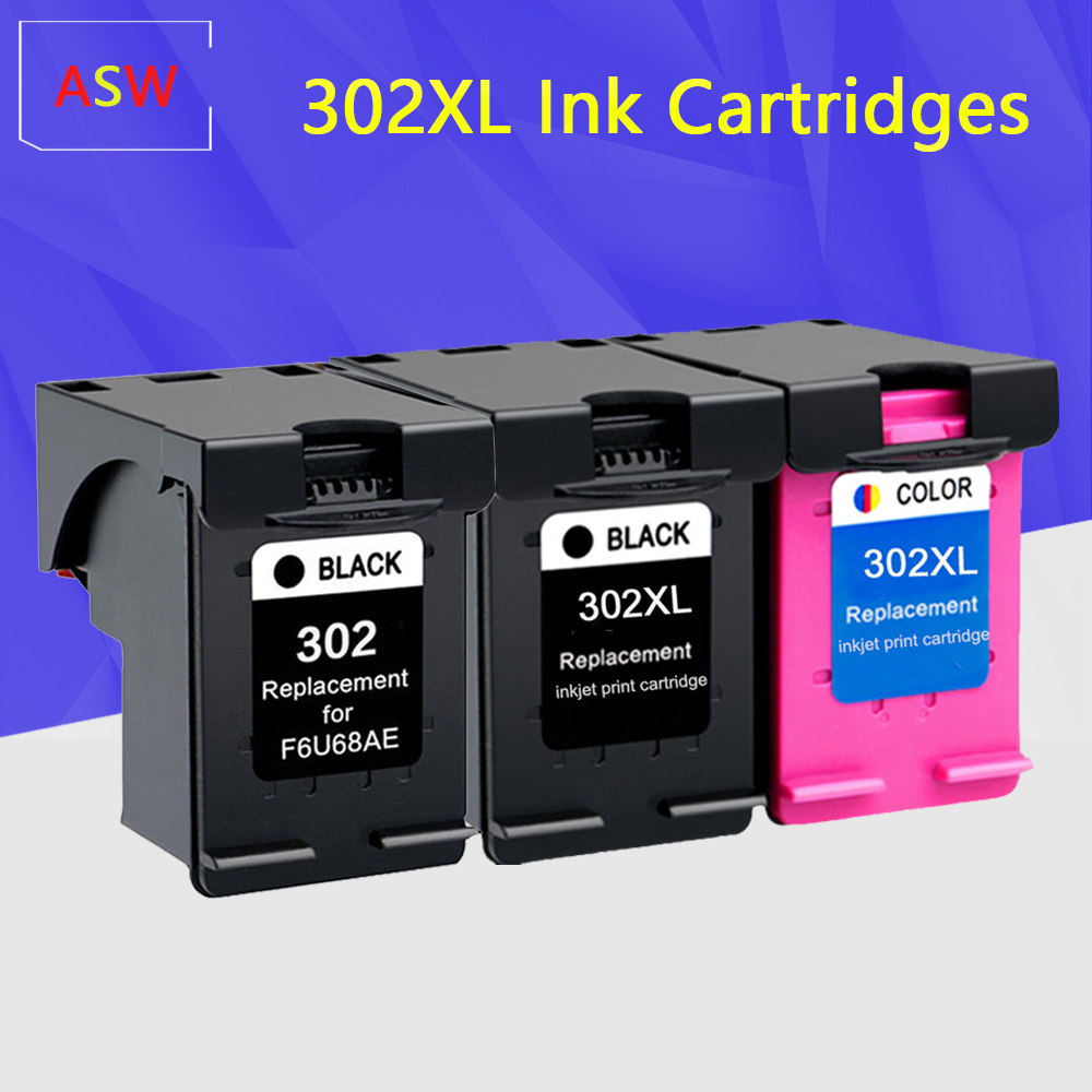 302XL Ink Cartridge Compatible For Hp 302 Xl Hp302 302XL Cartridge For HP Officejet 5220 5230 5232 5252 5255 5258 5264 Printer