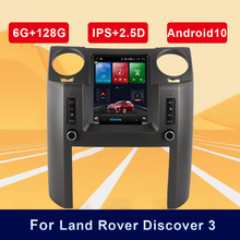 9,7 zoll Android 10 Auto Multimedia Video Player Auto GPS Navigation Radio BT Für Land Rover Discovery 3 GPS Neueste karten