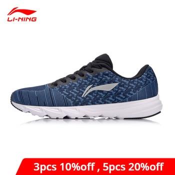Li-Ning Men EZ RUN Cushion Running Shoes Light Sneakers Wearable Footwear Anti-Slip LiNing li ning Sport Shoes ARBN019 XYP637