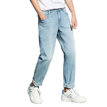 SEMIR Jeans Men 2020 Spring Autumn New Korean cotton Slim Pants Mens Retro Youth soft casual jeans Cotton for male