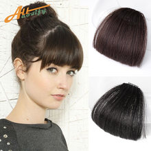 Allaosify 4 цвета челки волосы естественная Реалистичная челка
