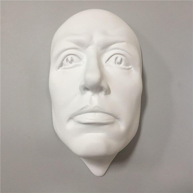 3D человек лицо персонажа скульптура на стене Висячие статуи домашний бар украшения Ремесленная Европейская ретро креативная художественная Статуэтка