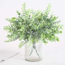 1 Piece Artificial Plant Holders Hanging Grass Fake Plants Home Garden Wall Balcony Decoration Artificial Plants
