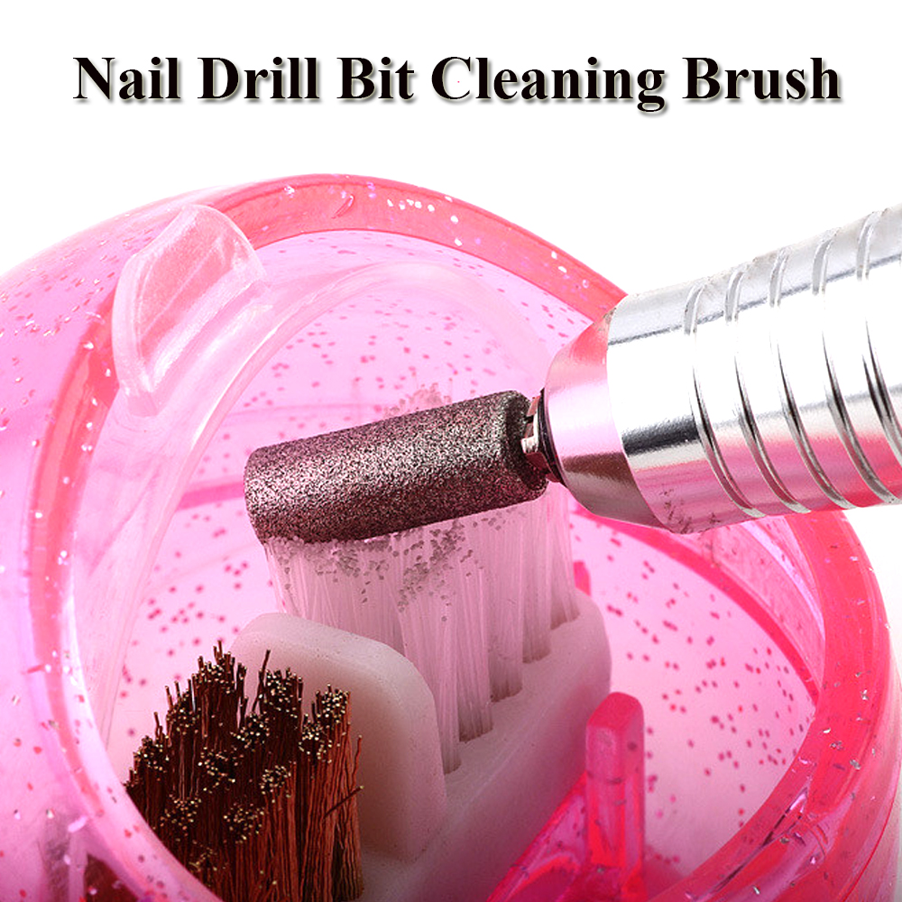 «Closeout DealsNail-Drill-Bit Salon-Equipment Cleaning-Brush Manicure Portable-Tools 1pcs for LANJ217-1é