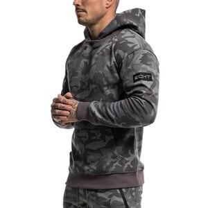 Image 5 - ใหม่ชุดกีฬาบุรุษแฟชั่นผู้ชาย tracksuit hoodies + sweatpants ผู้ชาย Sportwear ชุด Hoodies ชุดชาย