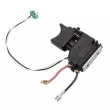 Gatillo de interruptor 10,8 V para Makita 650699 7 6506997 650645 0 6506450 DF330DWE DF030DWE TD090DWE TD090D DF330D DF030D DF330DWLE