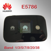 Unlocked Huawei e5786s-32a 4g WIFI yönlendirici e5786 LTE Cat6 300Mbps 4g MiFi router dongle 4g cep wifi güvenlik cihazı(China)
