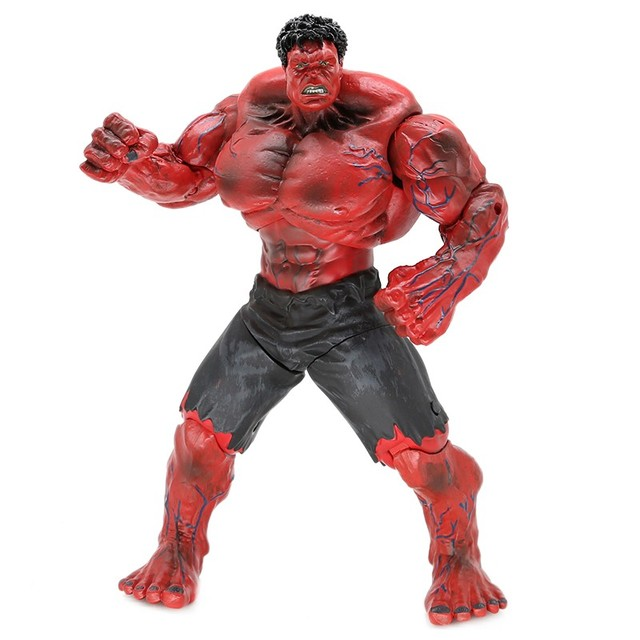 26CM Marvel Avengers Hulk Figures Collection Action Model Can Replacement Hand Super Hero Anime Figure Dolls Kids Toys Gift
