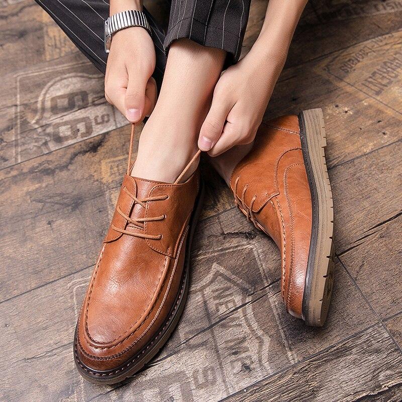 oxford calçado 37-46 masculino sapatos de festa!