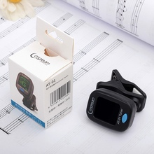 Electronic Tuner Guitar Clip-on Portable Battery Operated Musical Instrument Accessories For Bass Violin Ukulele