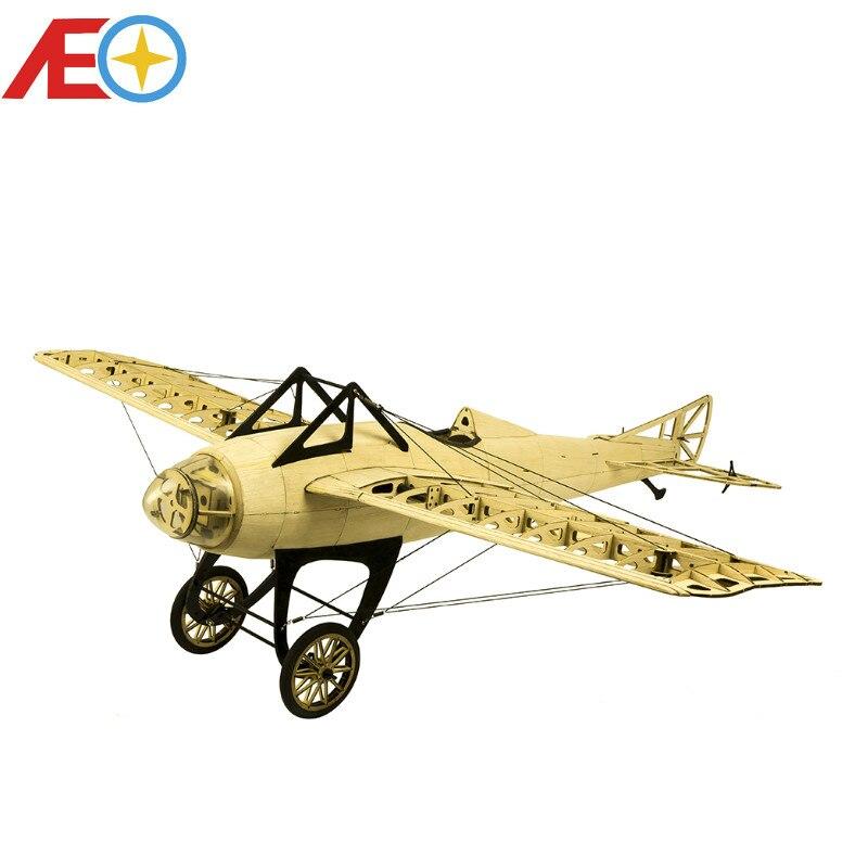 2019 New Scale RC Balsawood Airplane Laser cutting Deperdussin Monocoque 1000mm 39 Balsa Kit DIY Building