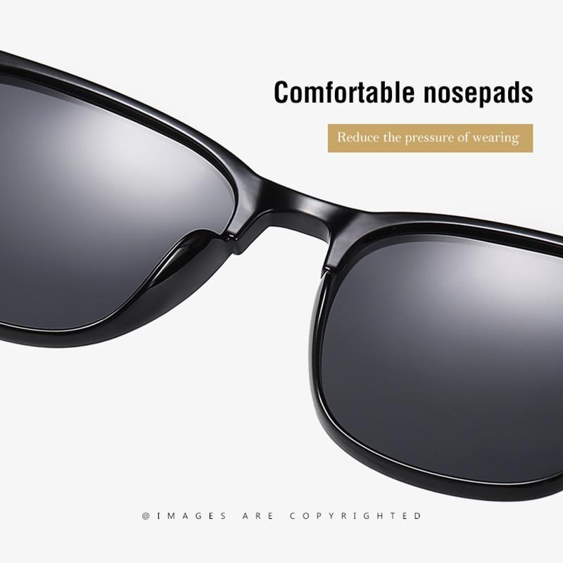 Мужские солнцезащитные очки noonepaul черные поляризационные