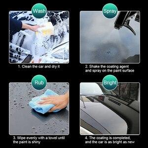 Image 3 - Vernice Spray repellente per auto rivestimento rapido cristallo placcato cristallo liquido lucidatura antigraffio dettaglio auto liquido lavaggio auto