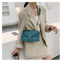 Women's bags 2021 autumn and winter new trendy rhombus chain bag all-match leather shoulder messenger female bag