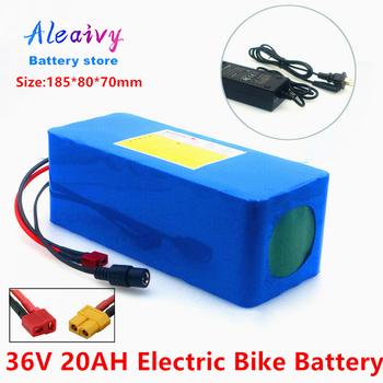36V 20Ah 16Ah 13 6Ah 12 8Ah rower elektryczny skuter bateria litowa do motocykla z wbudowanym BMS z ładowarką 42V 2A tanie i dobre opinie Aleaivy CN (pochodzenie) 10-20ah 36 v 36V battery bicycle 36v battery bike 36v battery li ion 42v battery pack 36v 20ah electric bike battery