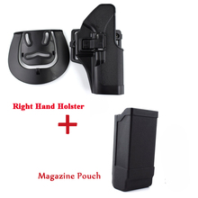 Hunting Pistol Gun Holster Tactical Gear Glock Accessories Left / Right Hand for 17 19 22 23 31 32 Case