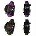 Новейшие Многофункциональные наружные спортивные цифровые часы высотомер Компас время температуры электронные модные часы