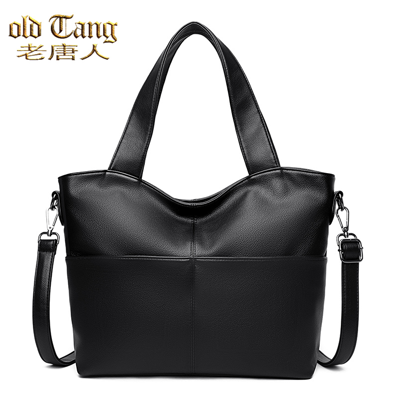 OLD TANG Fashion Luxury Shoulder Bags for Women 2021 Designer Large Capacity Solid Color Pu Leather Crossbody Bag Sac A Main