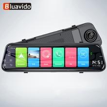 Зеркало видеорегистратор Bluavido, 10 дюймов, 4G, Android 8,1, GPS, FHD 1080P, ADAS, Wi Fi, Bluetooth