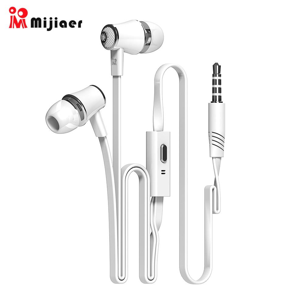 Langsdom Mijiaer JM21 In Ear Earphones For Phone IPhone Huawei Xiaomi Headsets Wired Earphone Earbuds Earpiece Fone De Ouvido