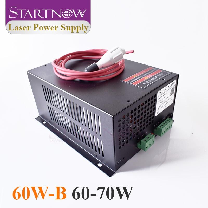 60W-B Co2 Laser Device PSU MYJG-60 Co2 Laser Source 110V 220V CO2 Laser Power Supply 60W For Laser Engraving Cutting Machine