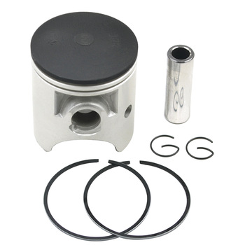 STD +25 +50 Motorcycle Piston & Ring & Clip Kit  For YAMAHA TZR125 1987-1992 DT125R 1988-1999 R1-Z 1991-1992 TZR 125 DT 125R