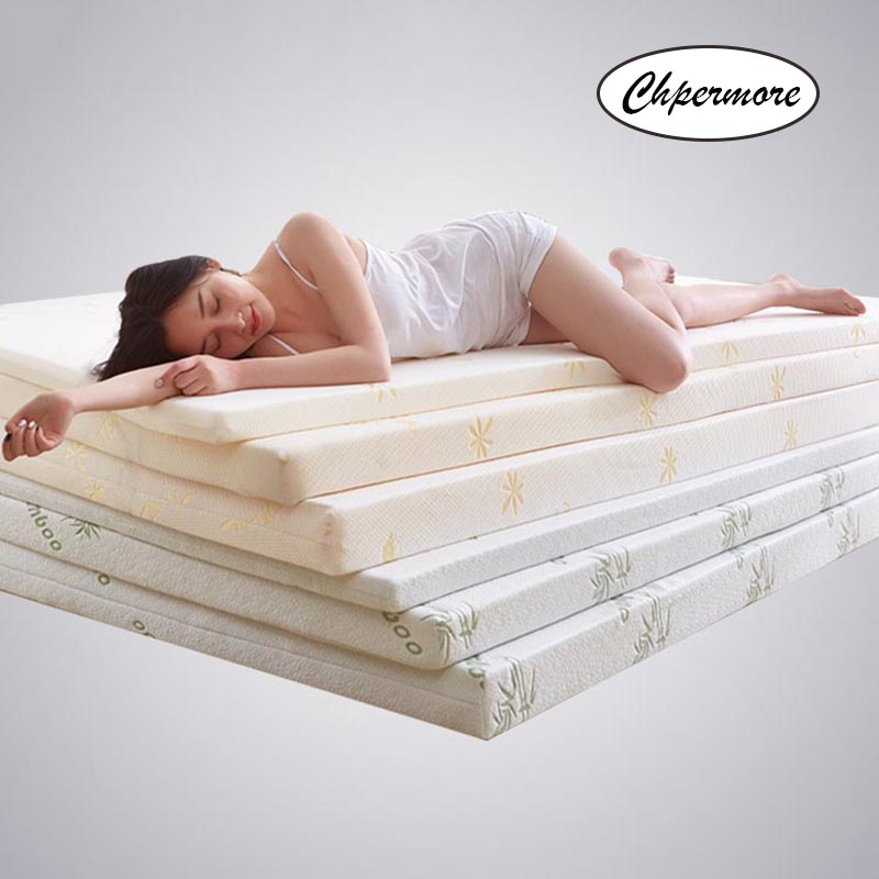 Chpermore Bedspreads Mattress-Cover Tatami Memory Rebound Queen Foldable Full-Size Twin