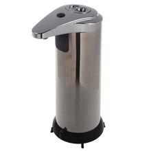 Бесконтактный автоматический умный из нержавеющей стали сенсор мыло шампунь дезинфицирующее средство Диспенсер сенсорный кухня ванная комната офис Hospita
