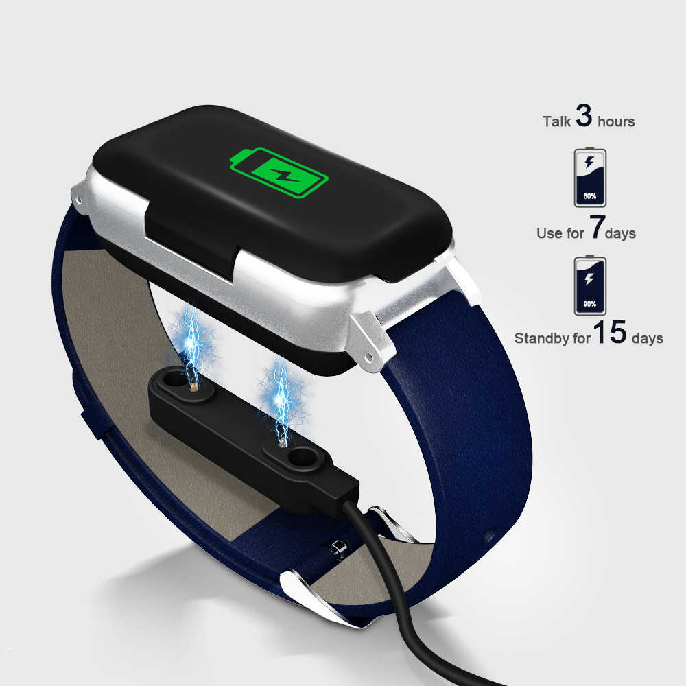 Auriculares inalámbricos Bluetooth 2 en 1 Tws 5,0 pulsera de Fitness Monitor de ritmo cardíaco reloj deportivo auriculares para teléfono Ios Android