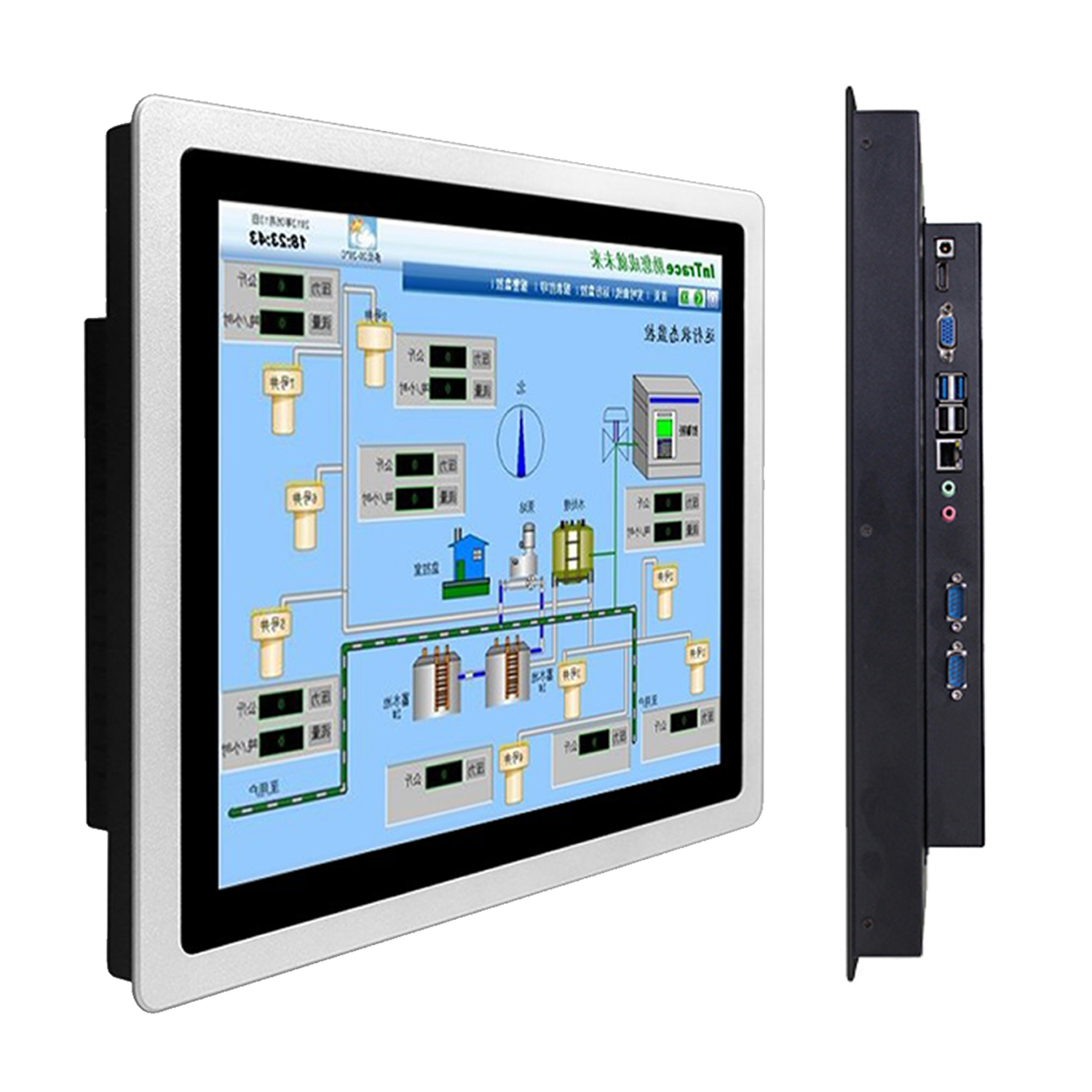 Industrial Panel Computer Touch For Automations