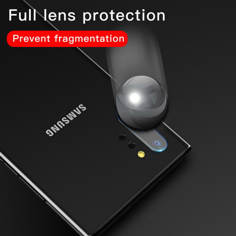 2pcs 9D protective glass for samsung Note10 note10pro back camera lens Film for samsung S8 S8plus S9 S9plus S10 S10plus Note8 9 in Phone Screen Protectors from Cellphones Telecommunications