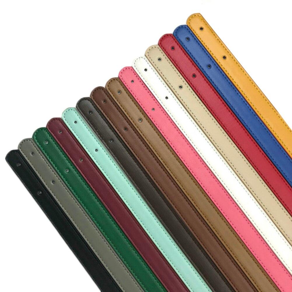 2 Pcs Candy Color Thin Bag Belt Detachable Handle Women Shoulder Bag Strap DIY Replacement Handle Bag Accessories High Quality