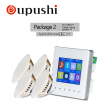 OUPUSHI AG-3 фоновая музыка в стенах усилители SD/AUX in/USB музыкальный плеер, Bluetooth цифровой стерео усилитель