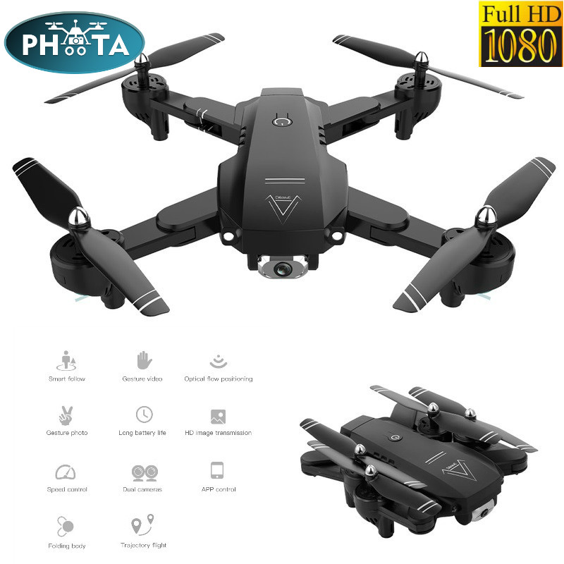WiFi FPV RC Drone Camera Optical Flow 1080P HD Dual Camera Aerial Video RC Quadcopter Aircraft wide-angle  Quadrocopter Toys Kid