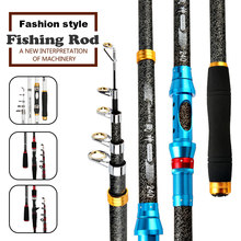 Sea Telescopic Fishing Rods Carp Fishing Spinning Rod Ultra Light Spinning Casting Feeder Rod for Fishing Reels Travel Tools(China)
