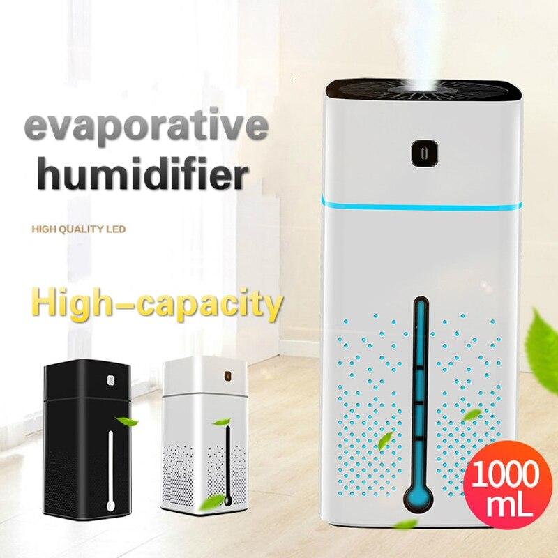 Aroma Diffuser Ultrasonic Humidifier Aromatherapy Diffuser Air Humidifier Portable Fashion Creative Exquisite 1000ml
