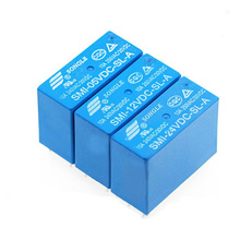 цена на Power Relays SMI-05VDC-SL-A SMI-12VDC-SL-A SMI-24VDC-SL-A 5V 12V 24V 10A 4PIN Relay