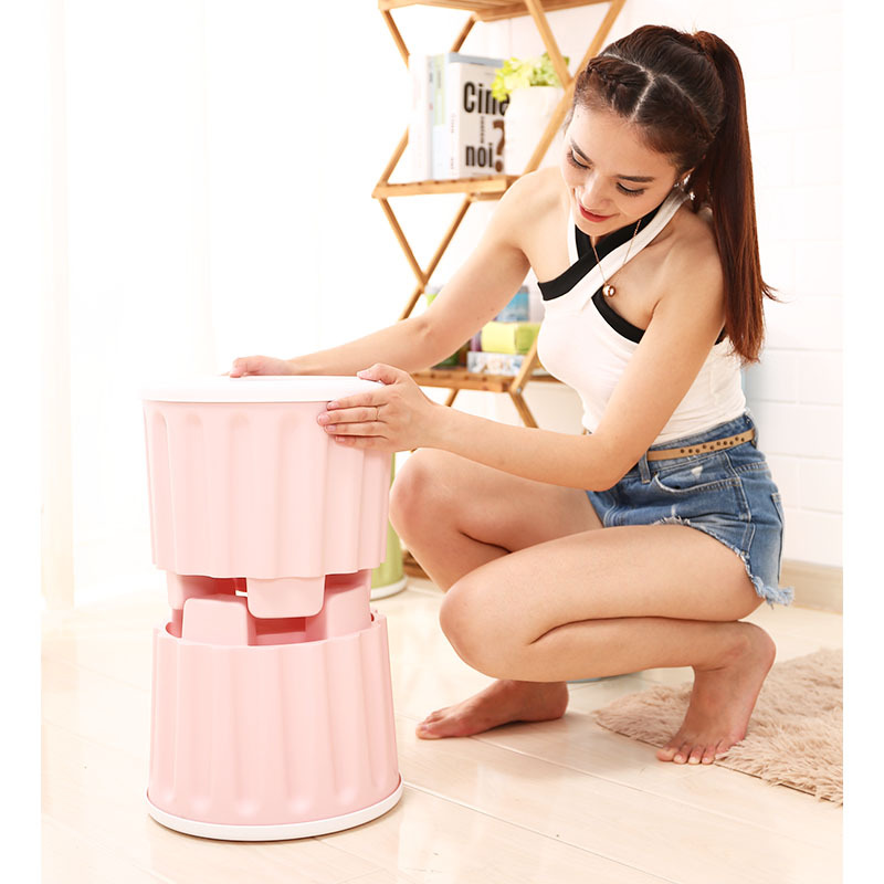 European Style Creative Multi-functional Storage Chair Circle Surface Children Stool Changing His Shoes Deng Building Blocks Toy
