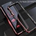 Черный  красный  анти-осенняя металлическая рамка  ПК  жесткая задняя крышка для zte Nubia Z20 NX627J  чехол из алюминиевого сплава  чехол для Nubia Z20  ме...