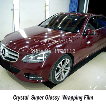 high end gloss wrapping film car